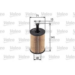 Oliefilter Valeo 586506